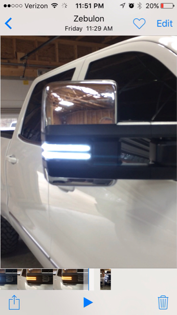 2015 5 Denali Power Tow Mirror Amber Lenses Page 5