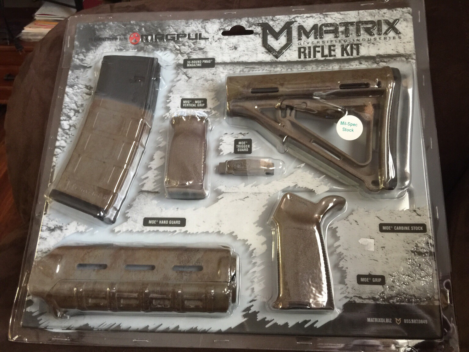 Magpul Matrix Furniture Kit