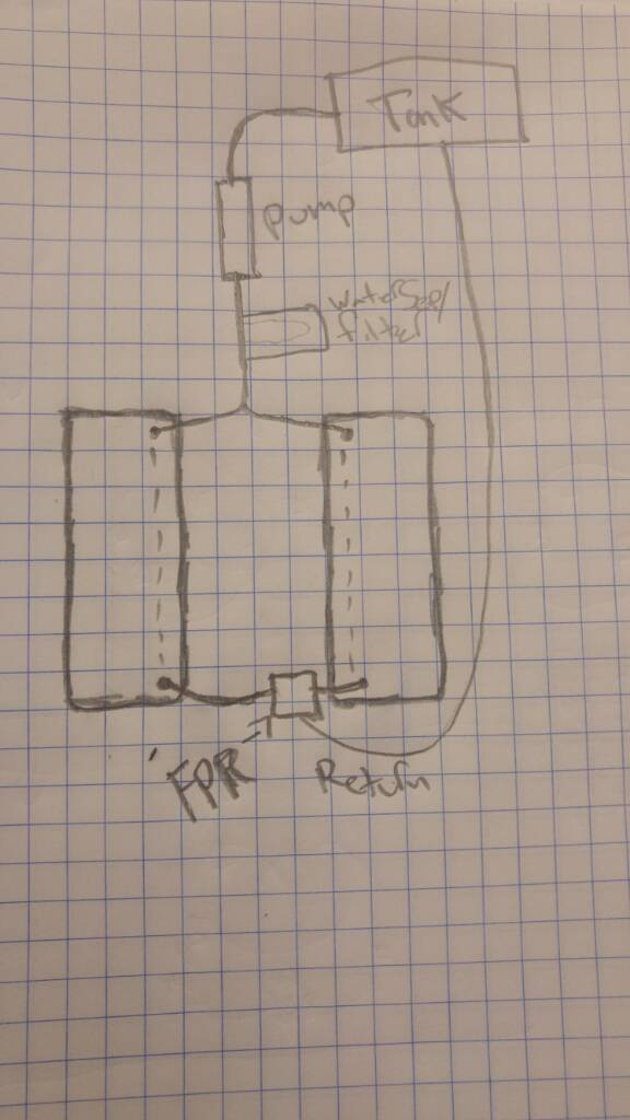 Electronic Pump Conversion Parts List And Diagram