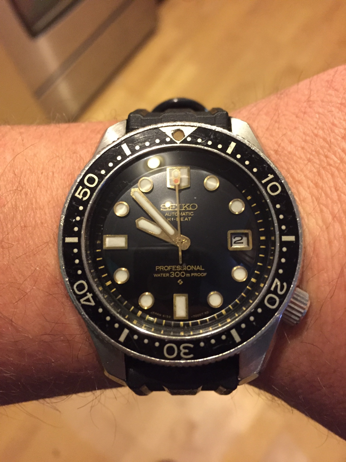 Just received mine back after 3 months over seas getting serviced. Theses  are definitely great watches. It took about a year to track mine down, ...
