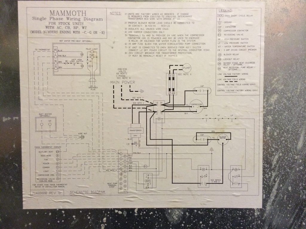 Mammoth Heat Pump Wiring Diagram 32 Images Ground Source 8ea85259760e6c31da058b5b6a5f2eb8 Smart Thermostat For Geothermal Looking Advice 2016 Offerings At