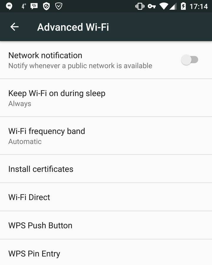 Stop connecting to Cable WiFi automatically - Android Forums