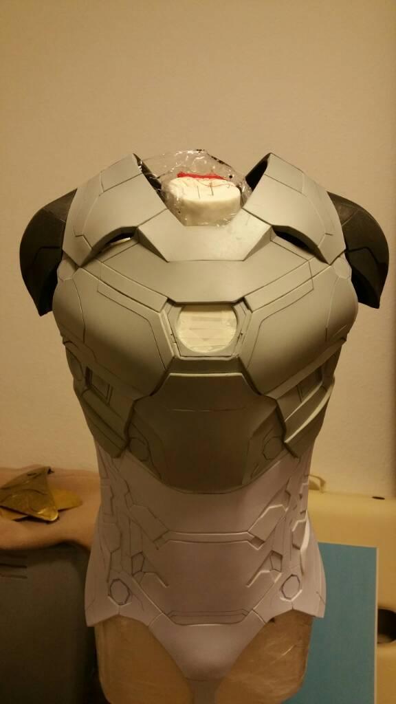 iron man suit template
