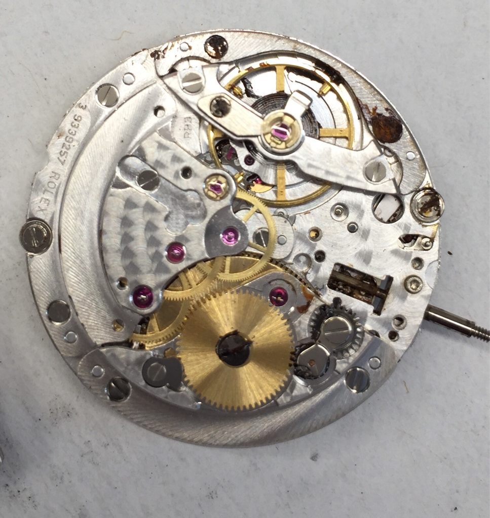 FS 3135 complete movement for parts or repair , Rolex