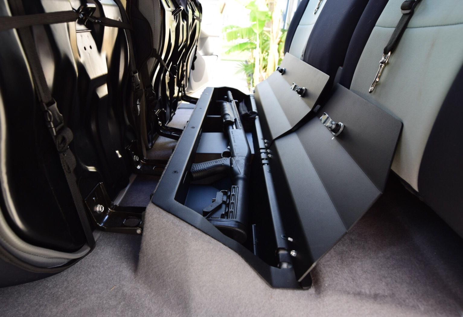 tacoma storage truck accessories seat toyota under rear esp interior cab lockable rifle road double unit forum trucks lifted ttora