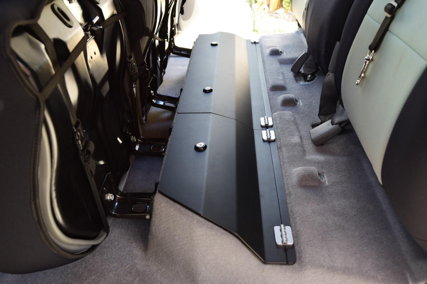 Esp Truck Accessories Tacoma Lockable Rear Under Seat