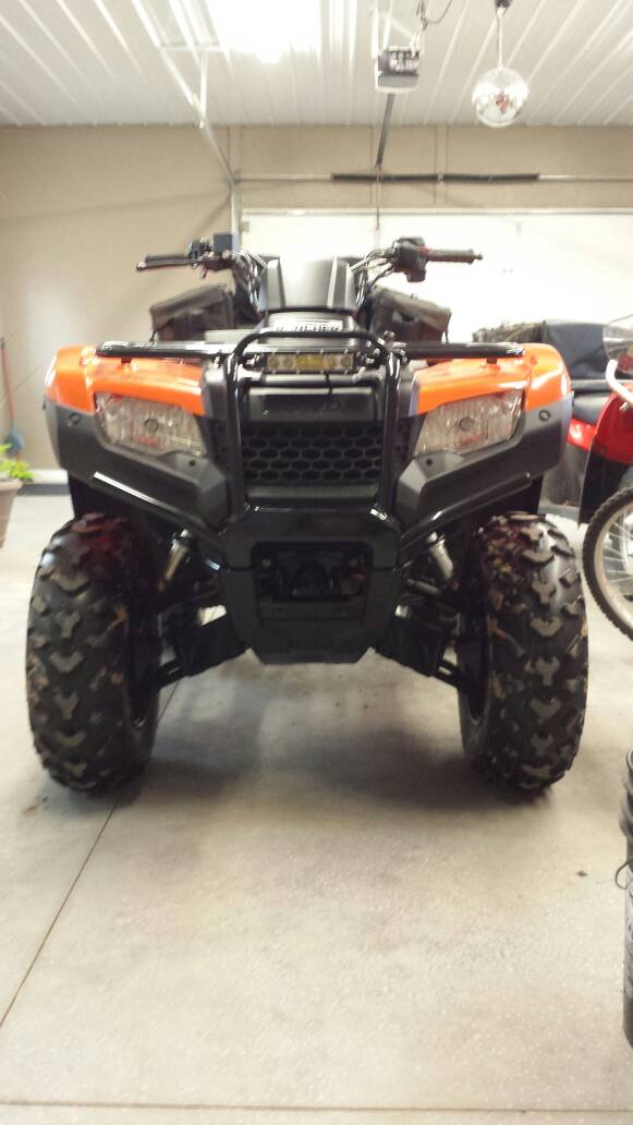 Front Light Bar Honda Foreman Forums Rubicon Rincon