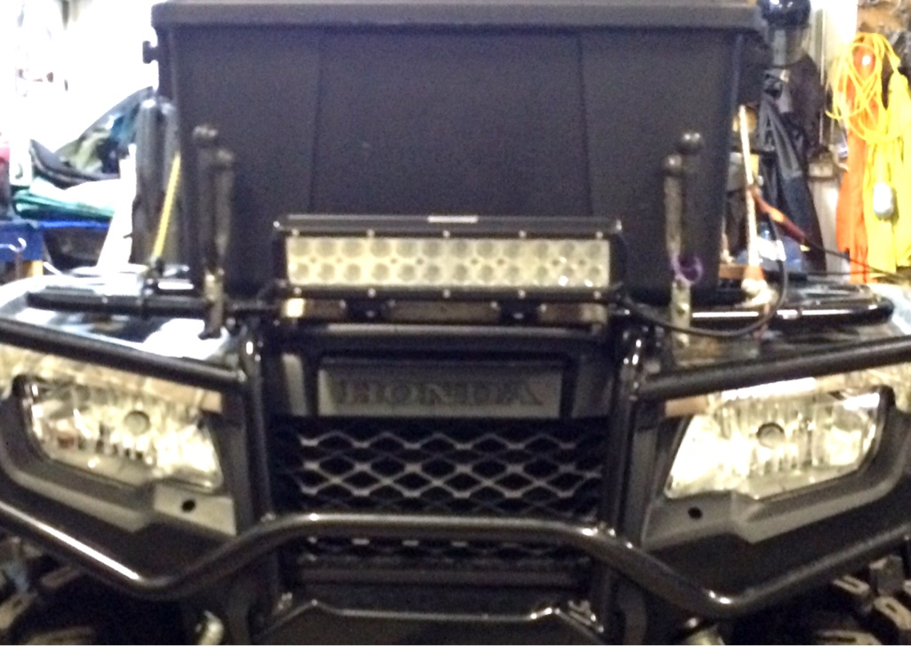 Front Light Bar Honda Foreman Forums Rubicon Rincon Rancher And Recon Forum