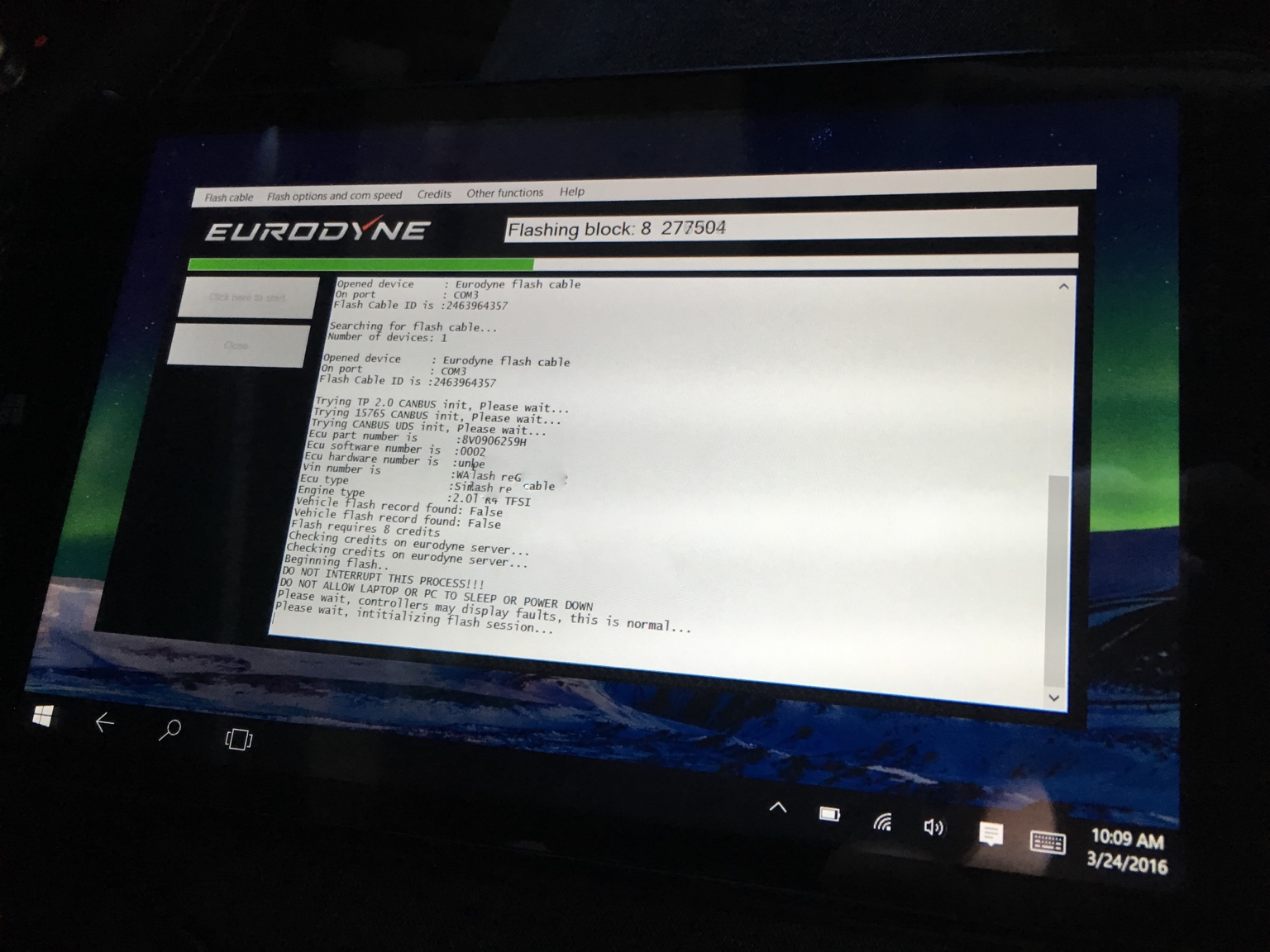 Eurodyne just released their unlocked flash kit for 2016