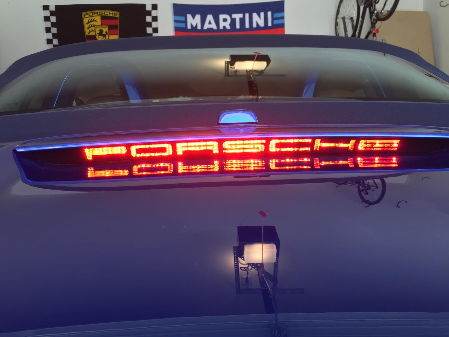 3rd Brake Light Decal