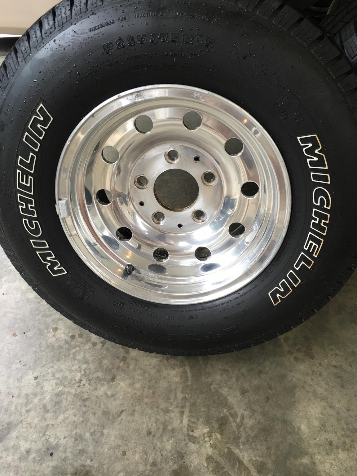 Ford F150 Rims >> Refinishing bullet hole rims