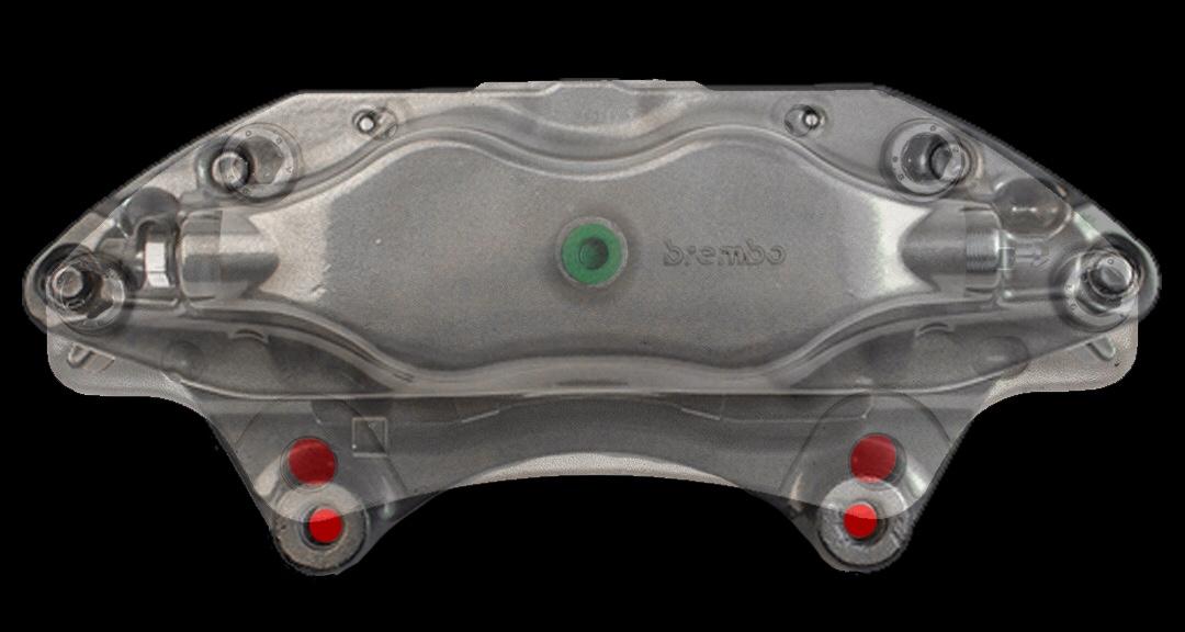 Acura TL Brembo Calipers On P Cars - Acura tl brembo calipers