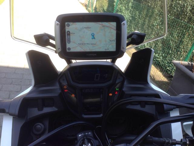 TomTom Rider mount | Africatwin org - Honda Africa Twin Forum
