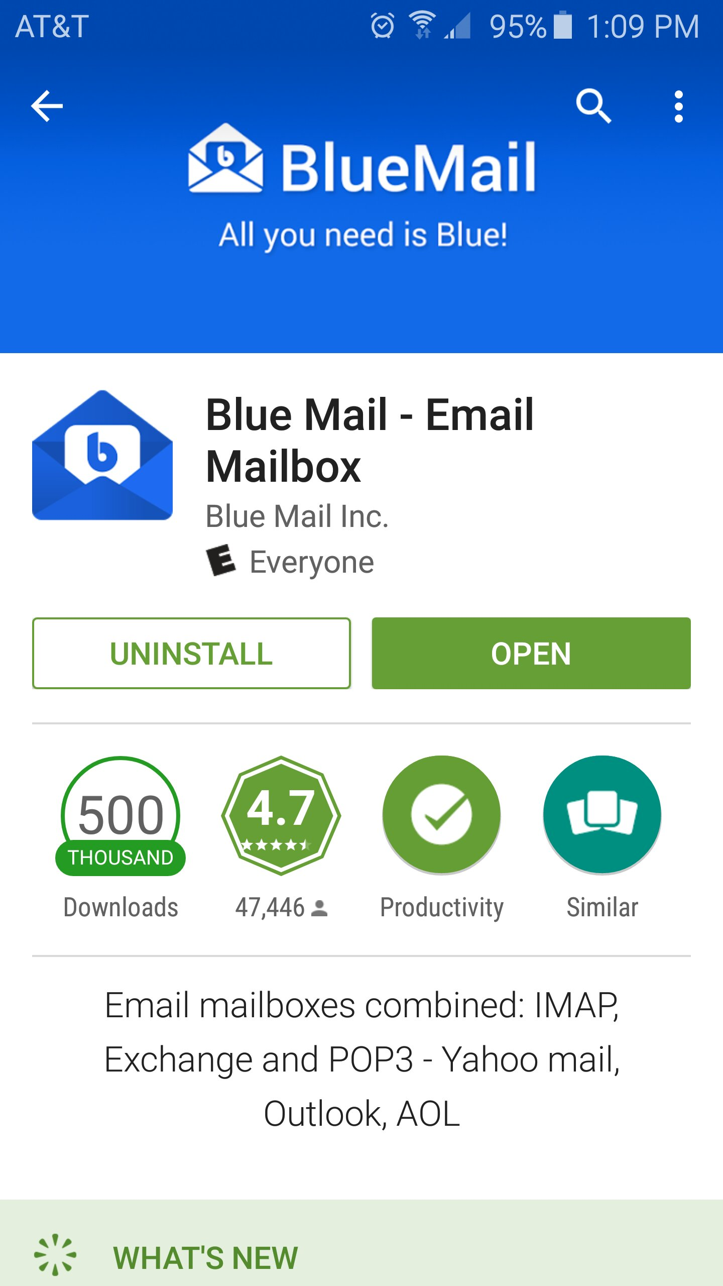 Try Out This One, Check Out The Screenshot, Blue Mail In My Opinion Is