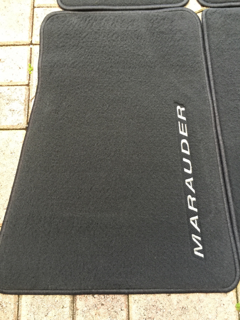 For Sale Brand New Oem Floor Mats Mercurymarauder Net Forums