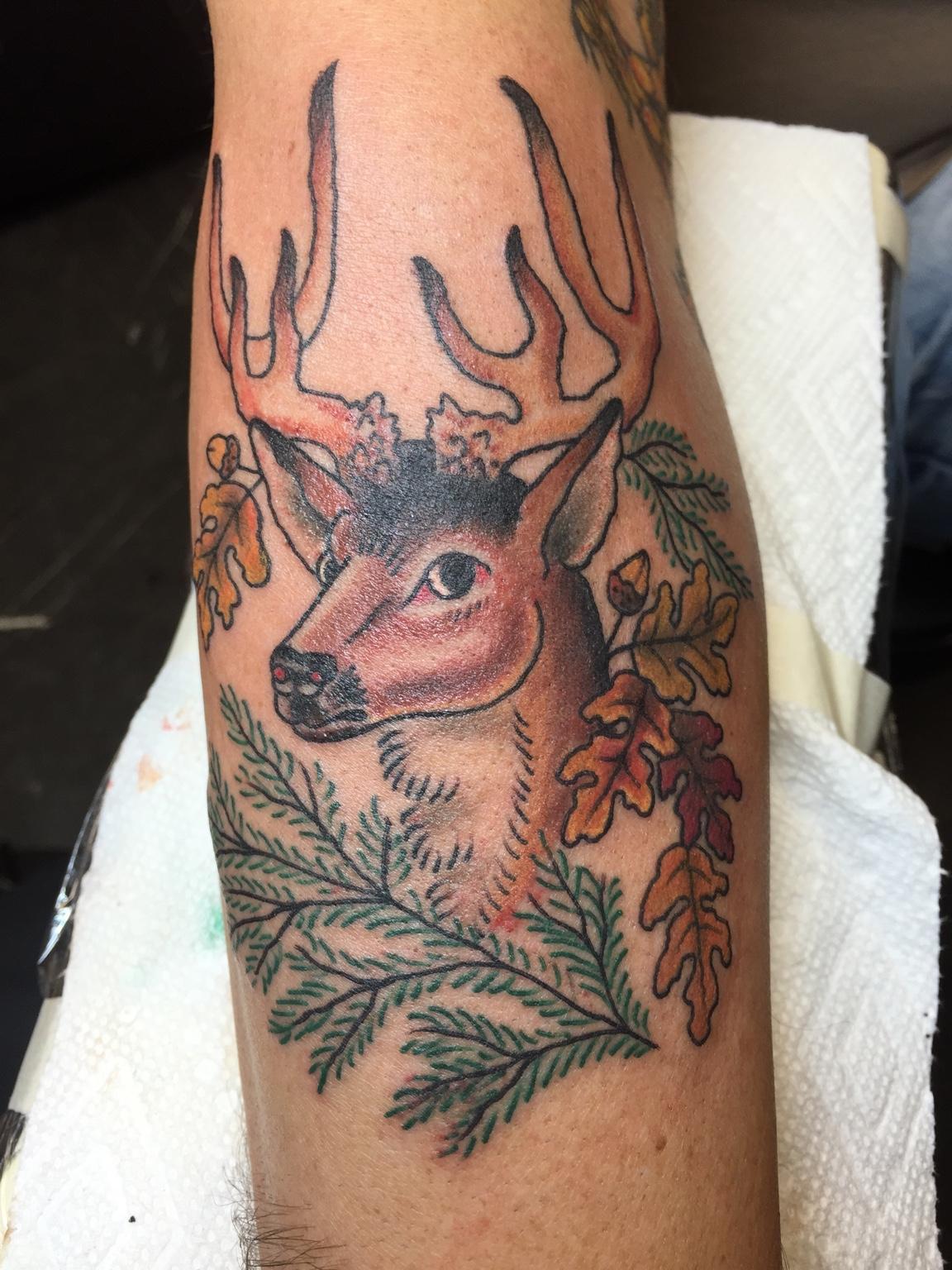 New Tattoo Sailor Jerry Deer New Jersey Hunters