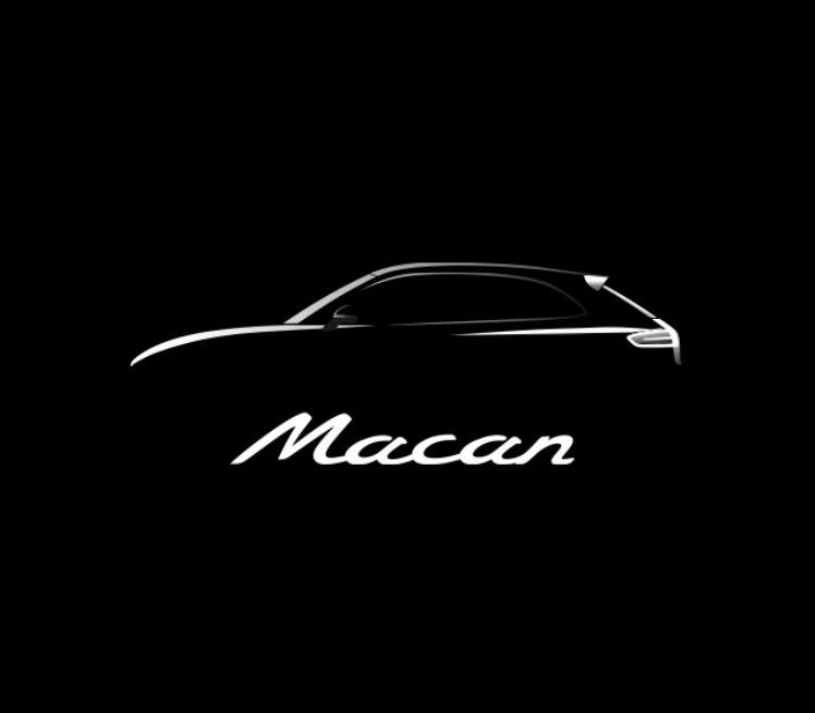 Macan Startup Silhouette Logo Porsche Macan Forum