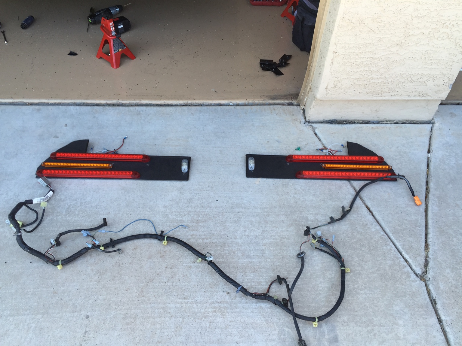 Exterior Custom Nsx Tail Lights W Wiring Harness Light