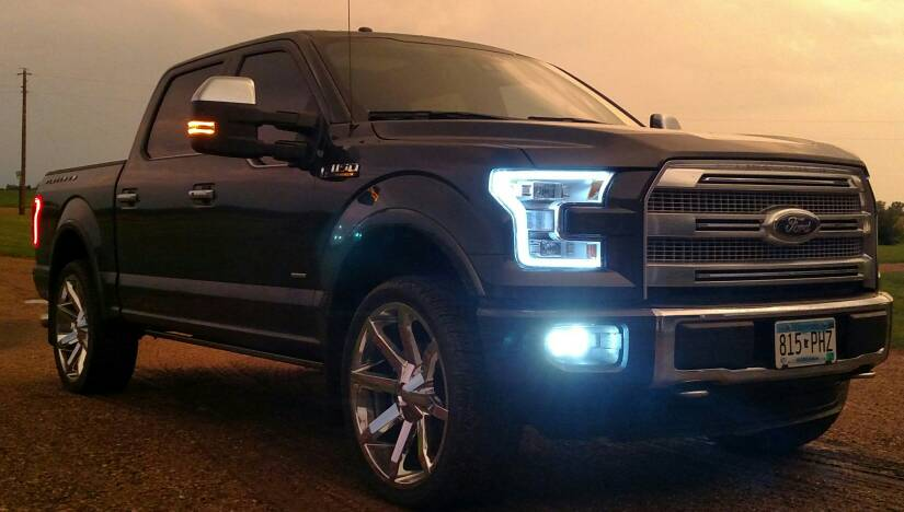 Eco Tint Headlights >> April 2016 F150 Ecoboost of the Month Contest (Aftermarket Wheels)