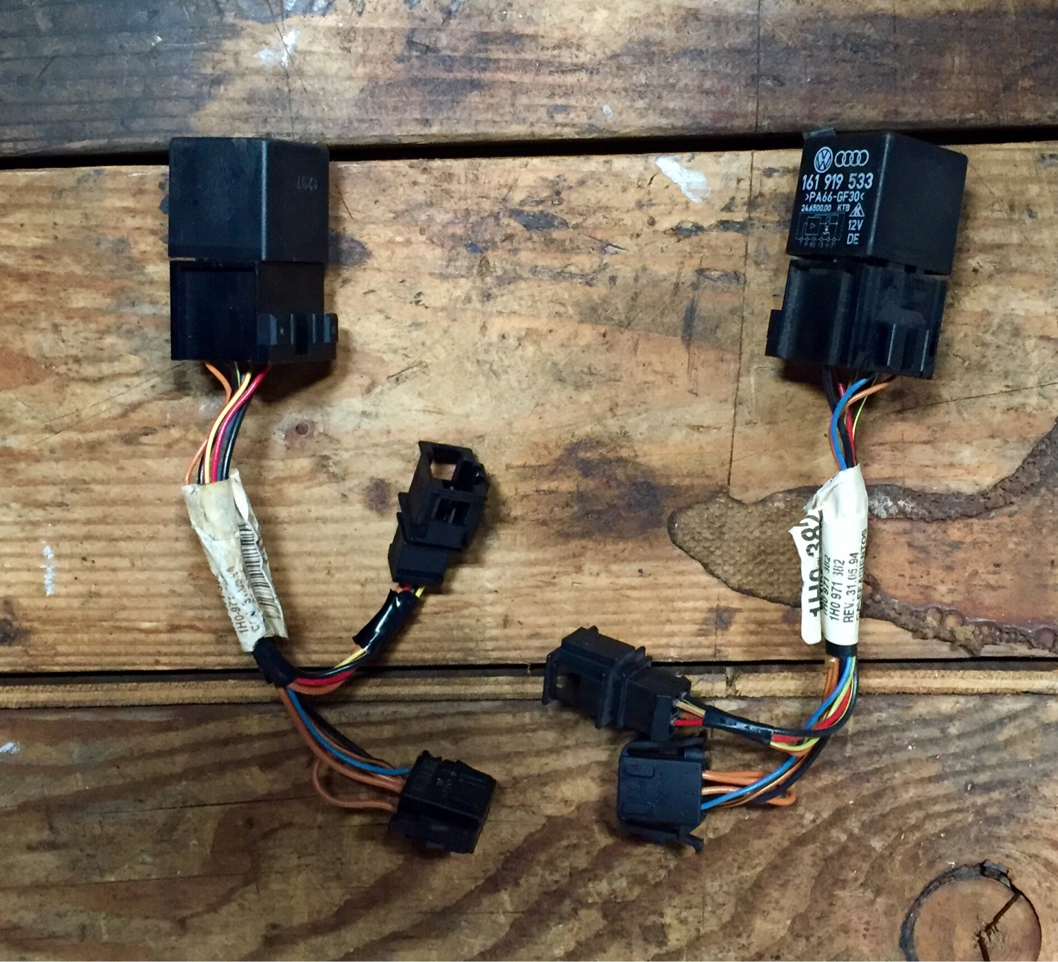 Vwvortexcom Diy Heated Recaros Seat Harness Connector You Need To Cut The Wiring Heating Padsyou Wont Be Using Mk3 Pads