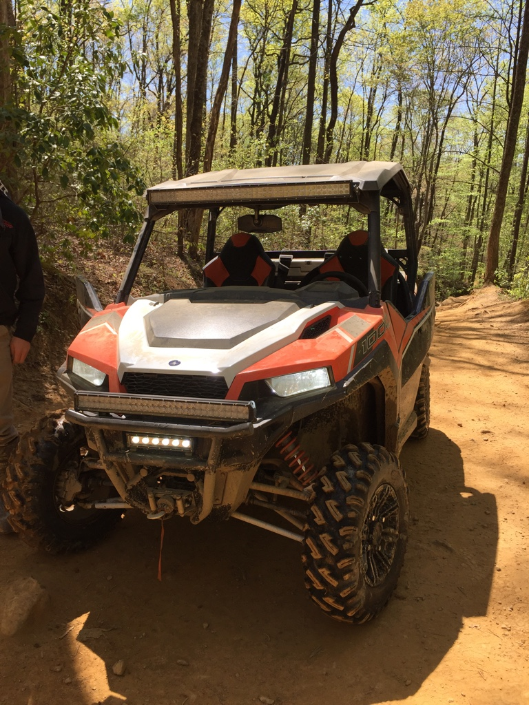 Large Light Bar Location And Brand Polaris General 1000 Forum