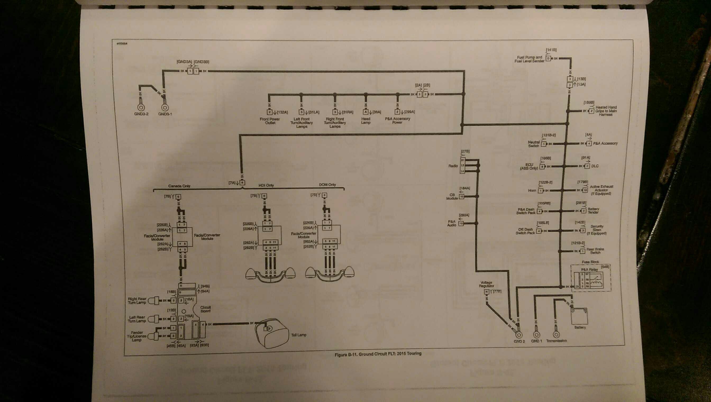 headlight wiring diagram 2016 street glide 2014 taillight wiring diagram needed road glide  2014 taillight wiring diagram needed