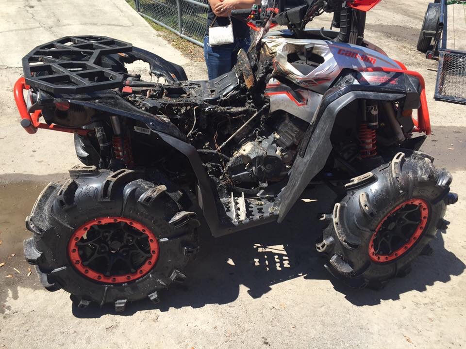 2015 xmr 1000 burned up page 3 can am atv forum. Black Bedroom Furniture Sets. Home Design Ideas