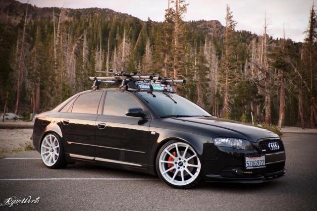 Wtb Audi A4 S4 B6 B7 Roof Rack Set