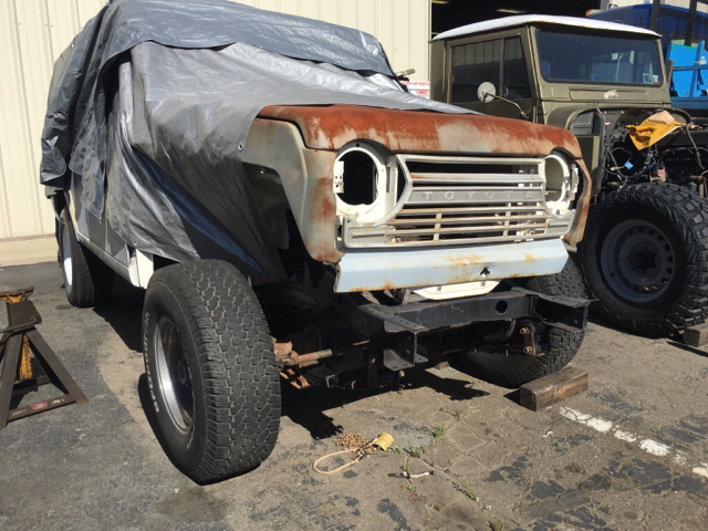 ORA's 1970 Toyota FJ55 Land Cruiser project | Off Road Action