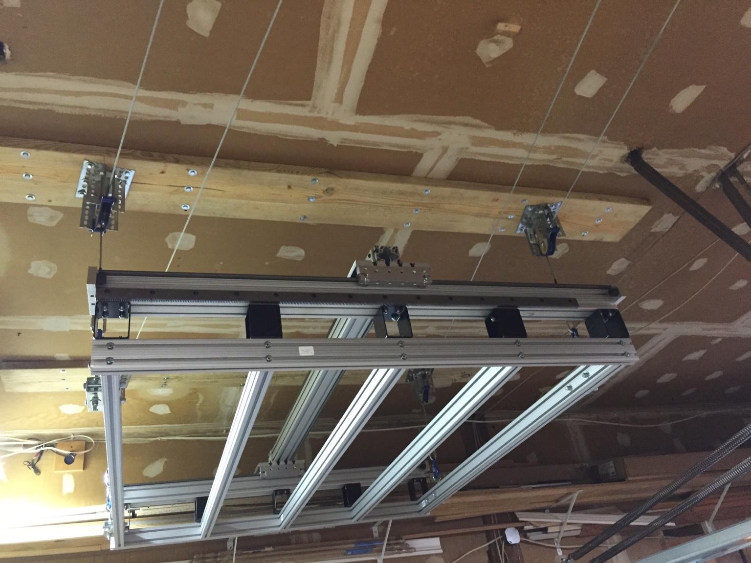 New Machine Build 4x4 On A Ceiling Hoist