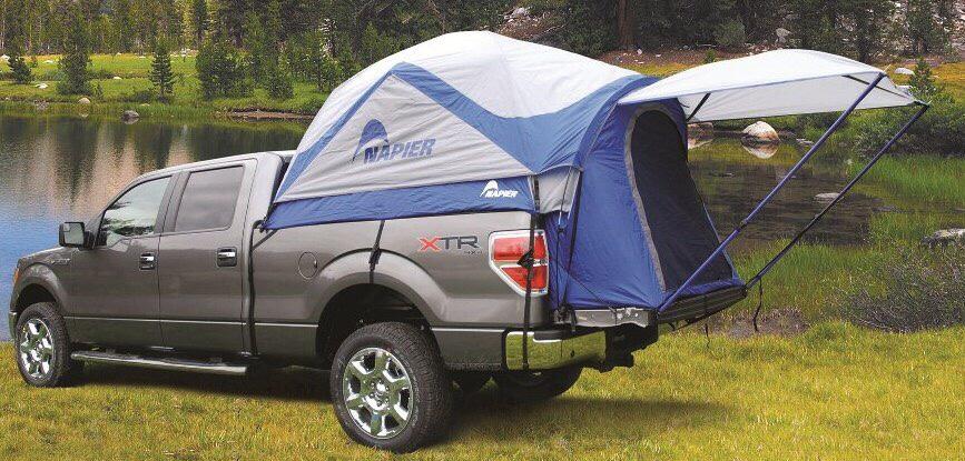 & A beaut Ute Tent.