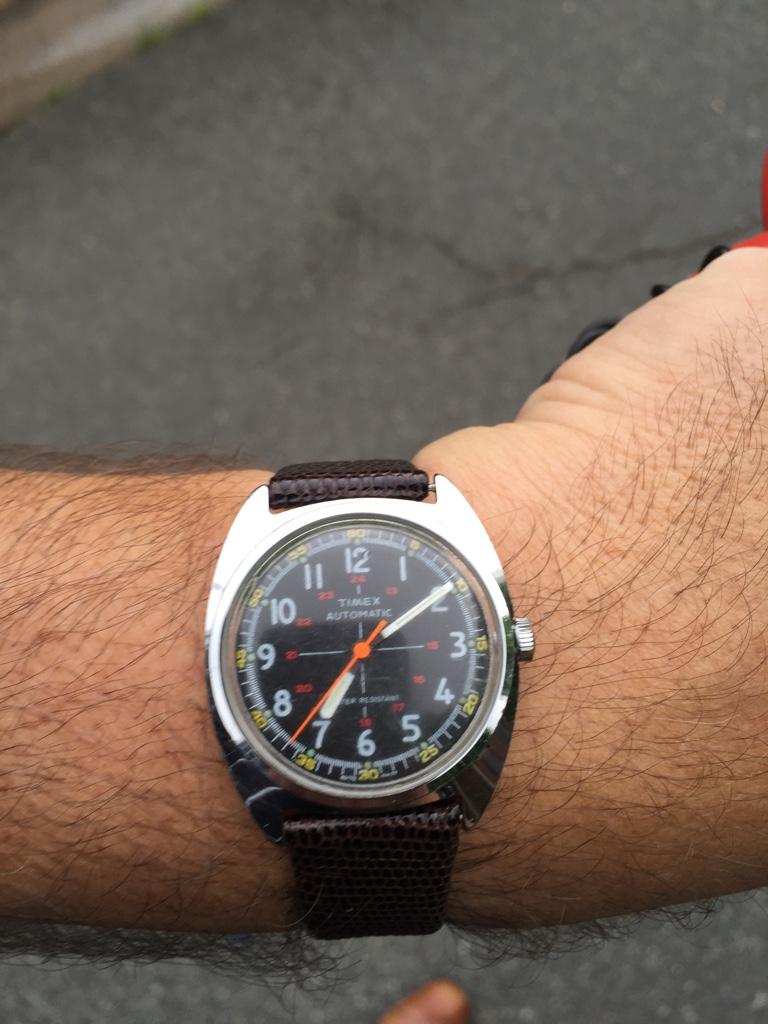 1970 vintage timex watches