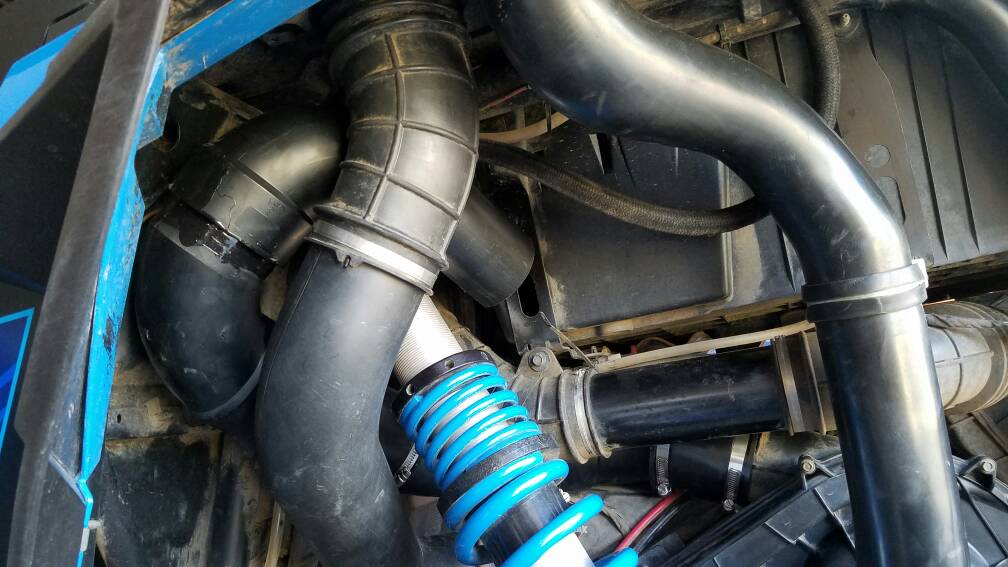 5 Inch Exhaust Pipe >> 1000 xp4 Clutch exhaust hidden snorkel. - Polaris RZR Forum - RZR Forums.net