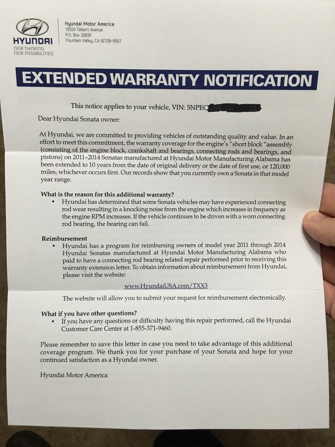 Hyundai Extended Warranty >> Recall Connecting Rod Wear May Result In Engine Stall Page 161