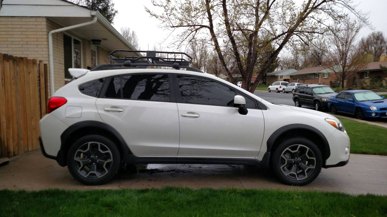 Subaru Premium 2014 >> New Roof Basket Installed... It's All The RAGE - Page 7