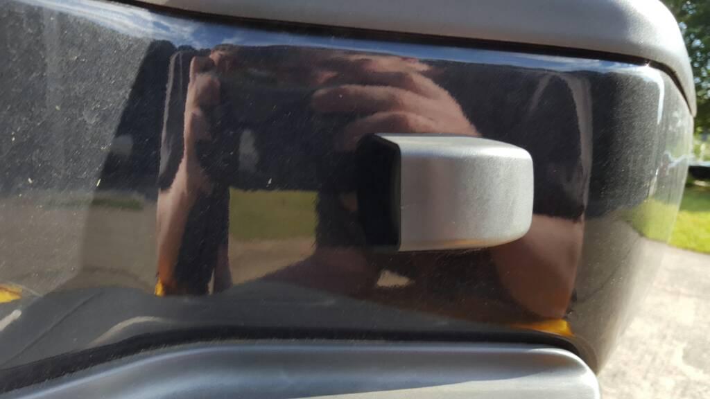 License Plate Light Cover For 2013
