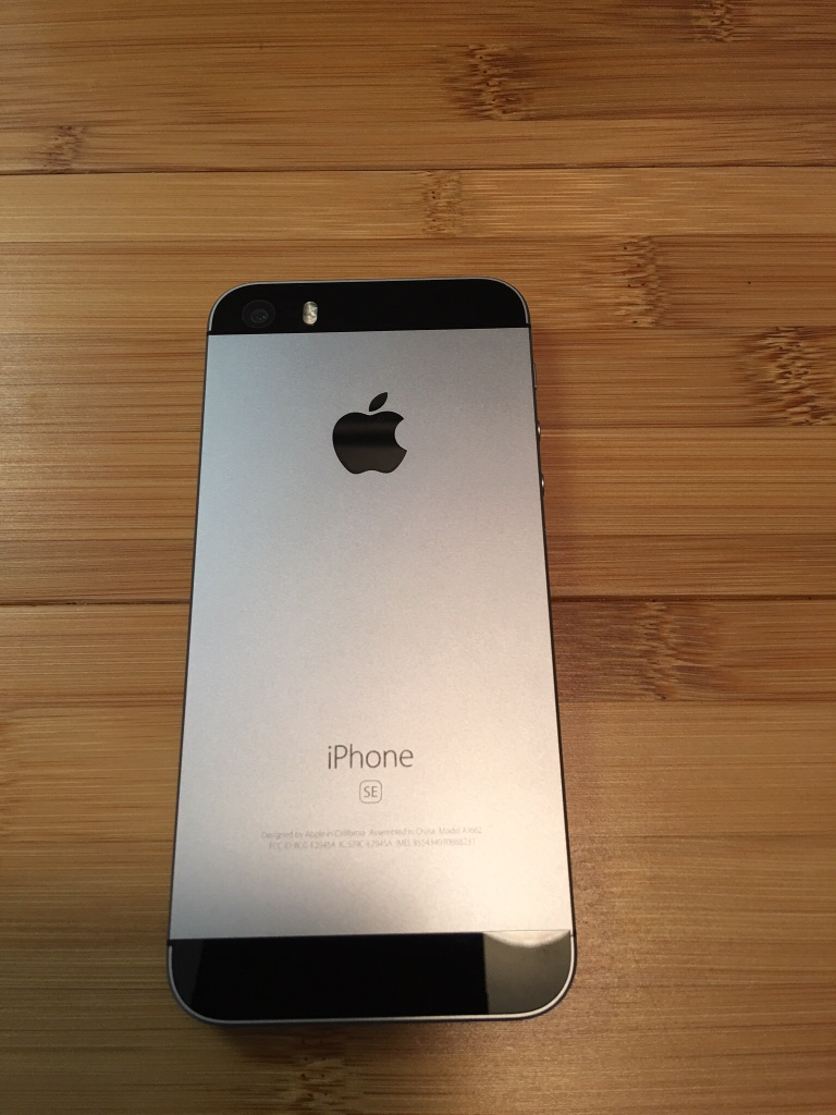 WTS: iPhone SE 64GB Space Gray-unlocked - iPhone, iPad