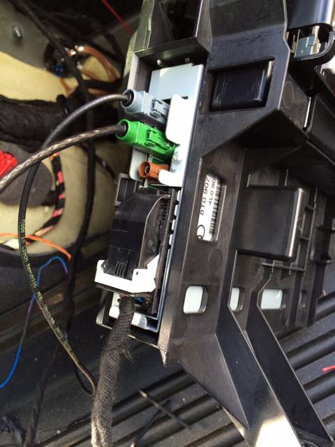 Front Parking Distance Control Retrofit For Facelift 2013