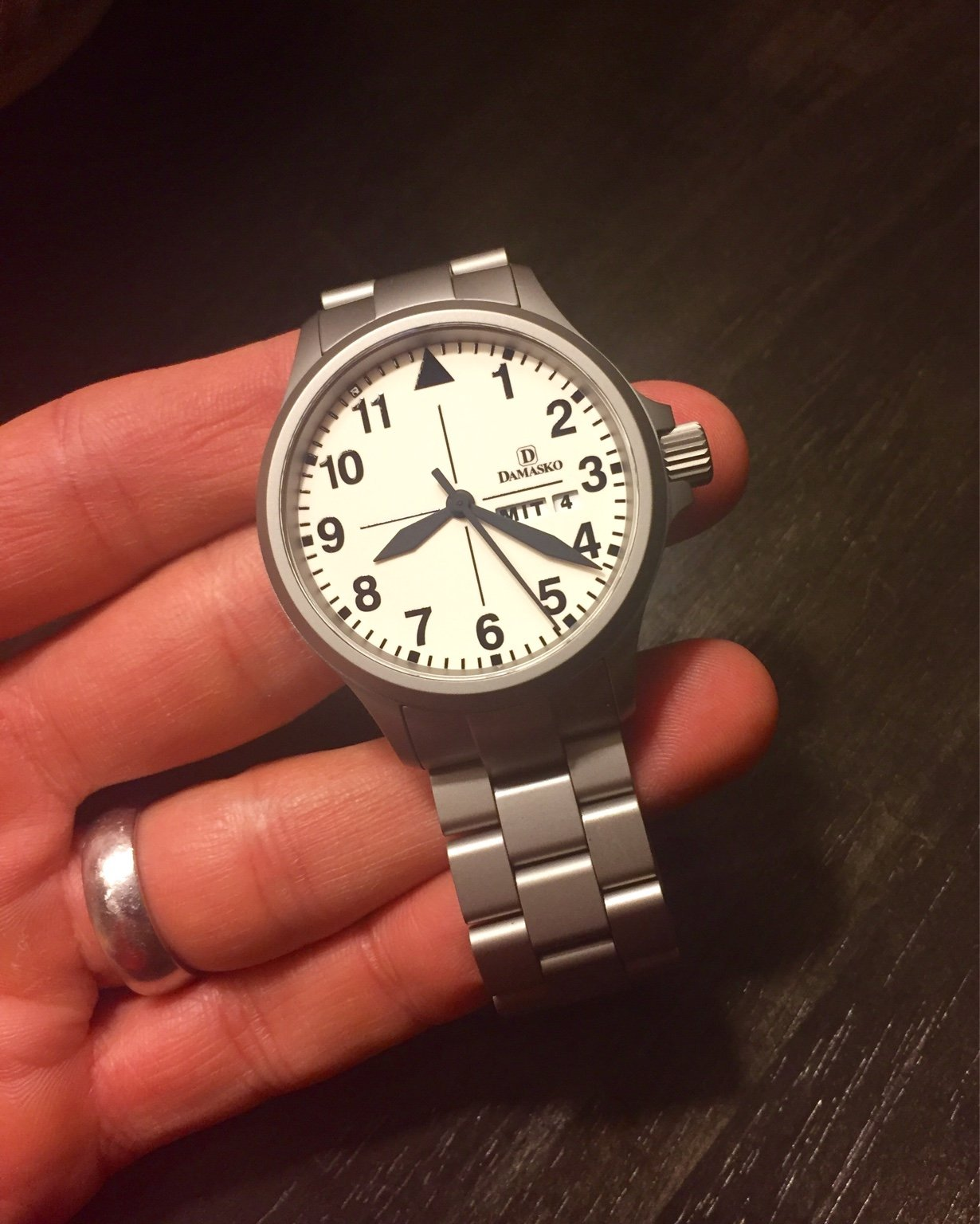 how scratch resistant are damasko watch cases page 5