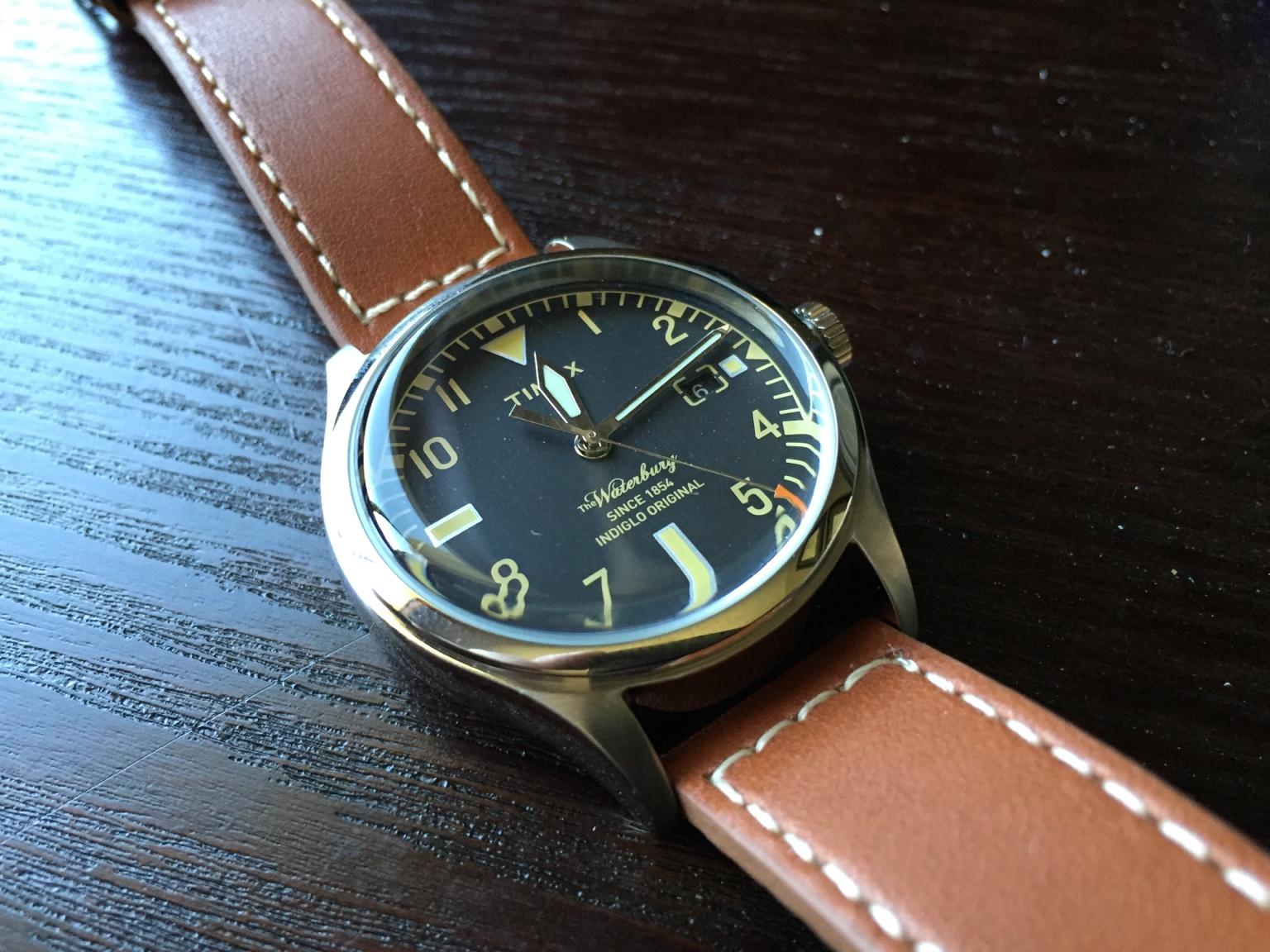 Timex waterbury for The waterbury