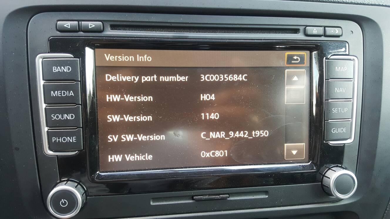 VWVortex com - RNS 510 Rev C for sale : $375 shipped obo