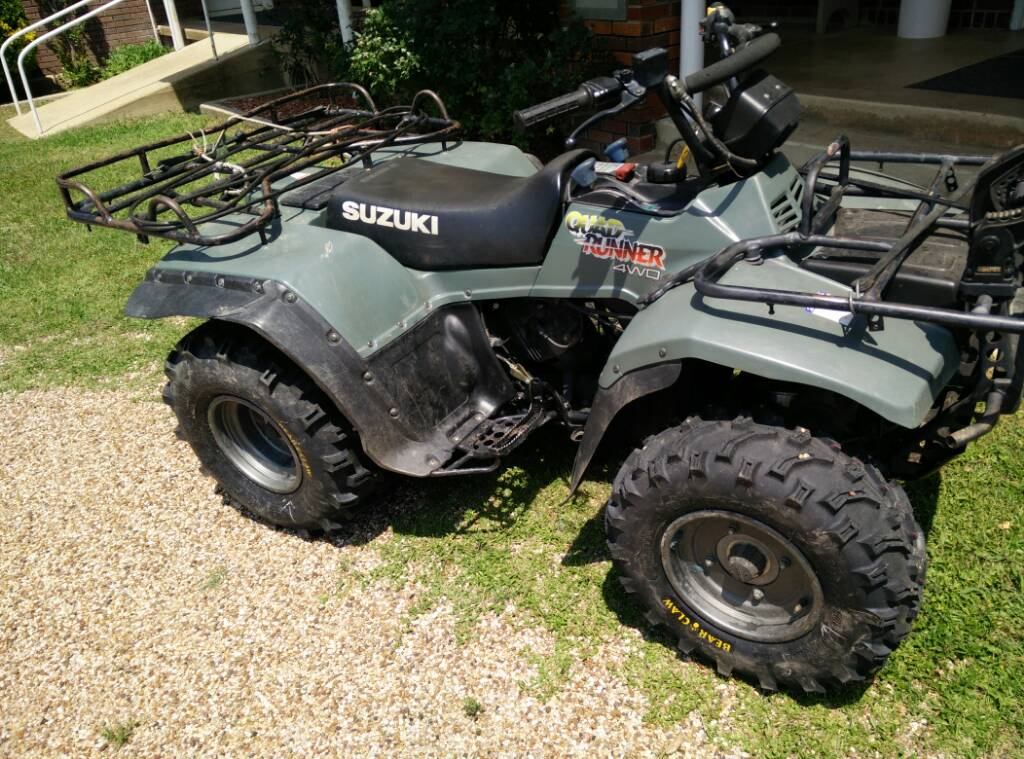 Suzuki 250 Quadrunner Manual