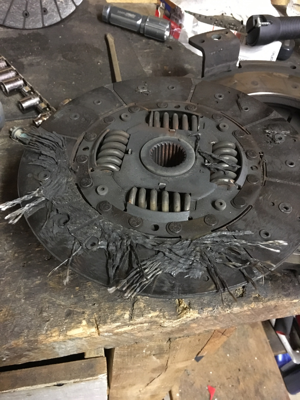 Car was babied for 36k miles of its life until I bought and I only put 1k  miles on it and drove it easy most of the time. Inner disc blew apart with  no ...