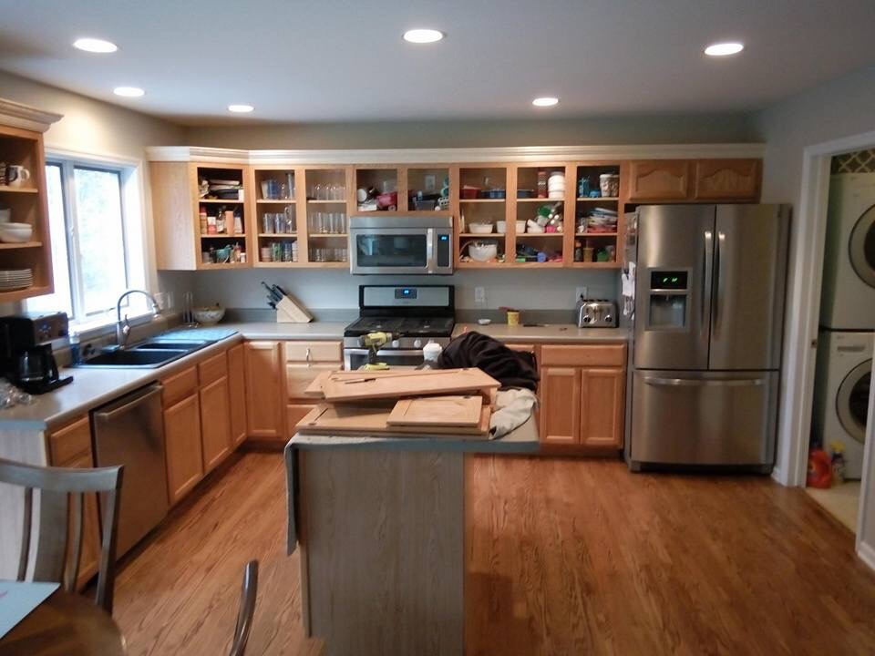 More Kitchen Cabinets Paint Talk Professional Painting Adorable Kitchen Cabinet Painting Contractors