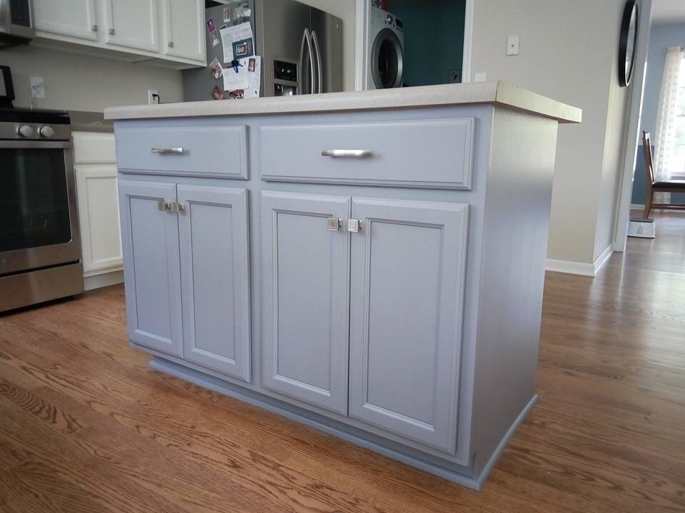 More Kitchen Cabinets - Paint Talk - Professional Painting ...
