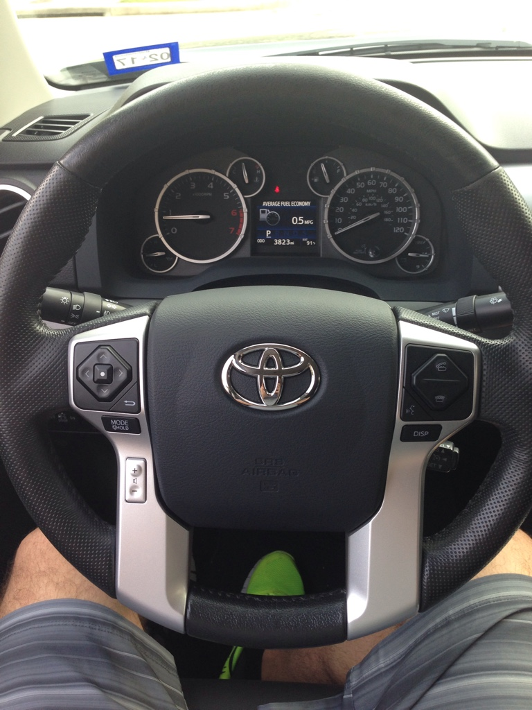 2014 Toyota Tacoma >> Leather Steering wheel cover '14+ - Page 11 - TundraTalk.net - Toyota Tundra Discussion Forum