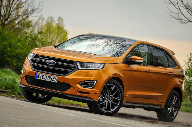 Www Autocar Co Uk Car Review Ford Edge First Drives  Ford Edge  Sport Review