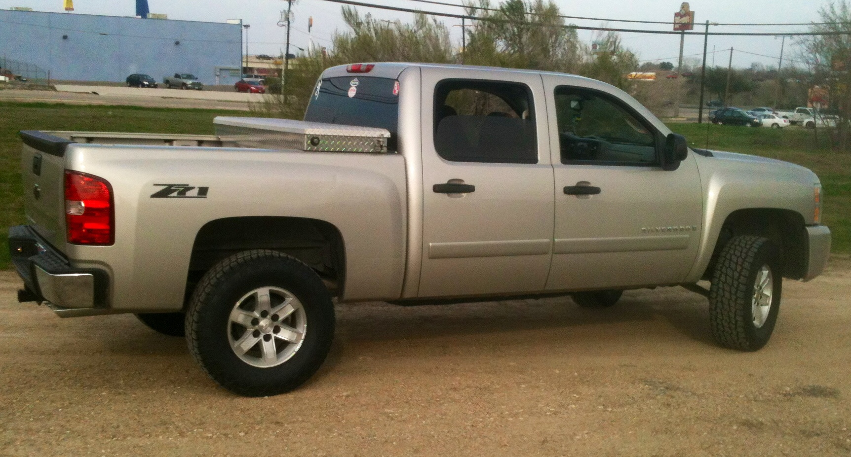 """3"""" lift with 285/70r17 