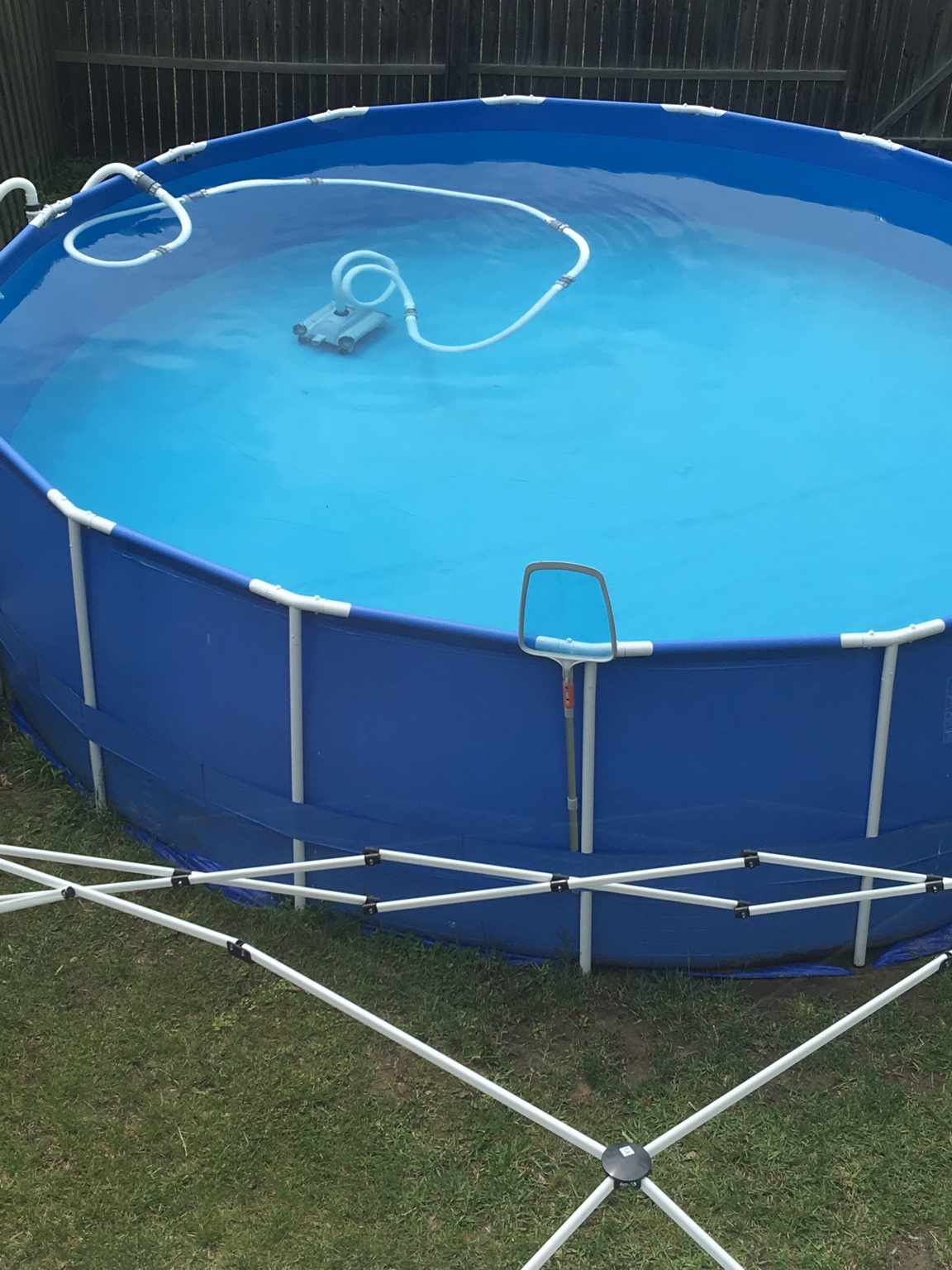 I Got The Intex Automatic Pool Cleaner