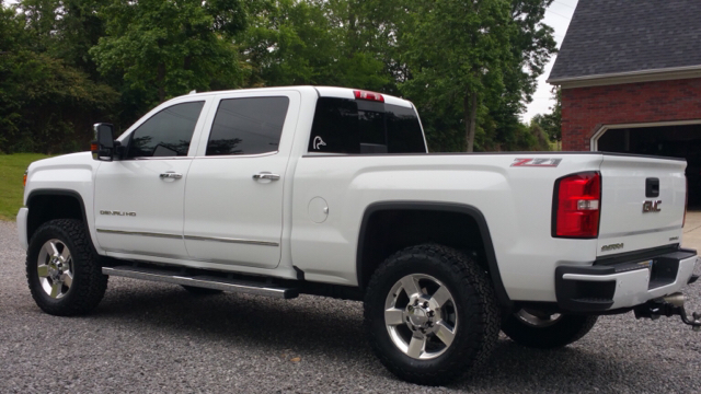 So I went with the 325/60/20 BFGs on my 2016 - Chevy and ...